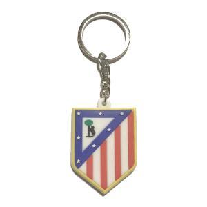 アトレティコマドリード エンブレムラバーキーホルダー|footballfan