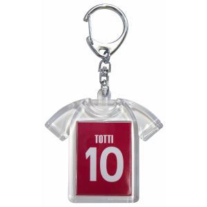 トッティ(ASローマ 10)ユニフォームキーホルダー|footballfan