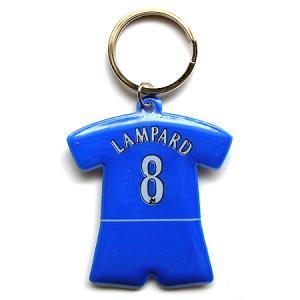 チェルシー#8 ランパード ユニフォーム型キーホルダー|footballfan