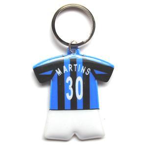 インテル#30 マルティンス ユニフォーム型キーホルダー|footballfan