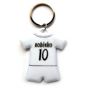 レアルマドリッド#10 ロビーニョ  05/06ユニフォーム型キーホルダー|footballfan