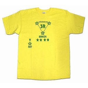 La Hinchada Loca ブラジル3R サッカーTシャツ【ワールドカップ関連】|footballfan
