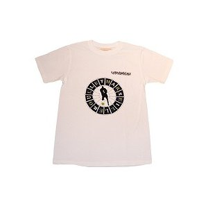 La Hinchada Loca ジダン マルセイユルーレット Tシャツ(白)|footballfan
