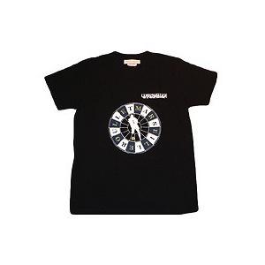 La Hinchada Loca ジダン マルセイユルーレット Tシャツ(黒)|footballfan
