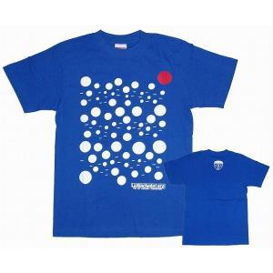 La Hinchada Loca JAPAN BLUE 水玉 Tシャツ(青)【ワールドカップ関連】|footballfan