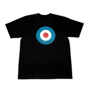 【Modern Football】ターゲット Tシャツ(黒)|footballfan