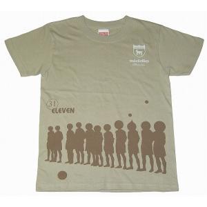 middle ベッカム Tシャツ[ベージュ]|footballfan