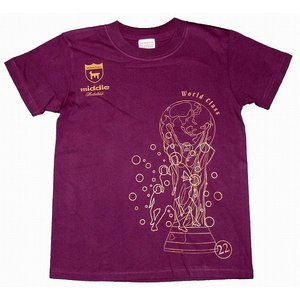 middle ワールドクラス Tシャツ[マッドパープル]|footballfan