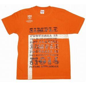 middle クライフ Tシャツ[オレンジ]|footballfan