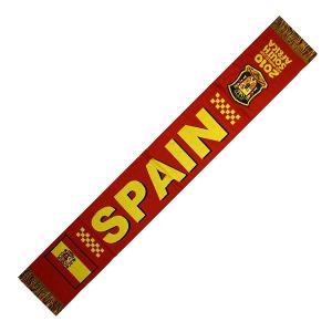 スペイン代表(2010南アフリカW杯)平織りマフラー|footballfan