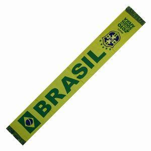 ブラジル代表 代表(2010南アフリカW杯)平織りマフラー|footballfan