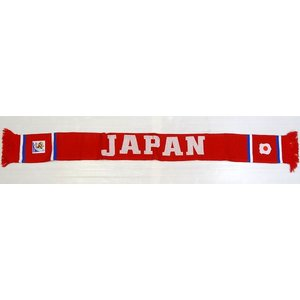 日本代表(2010ワールドカップ南アフリカオフィシャル)ジャガードマフラー|footballfan