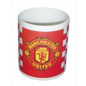 マンチェスターユナイテッド マグカップ(チェック柄)|footballfan