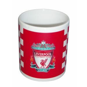 リバプールマグカップ(チェック柄)|footballfan