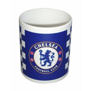 チェルシー マグカップ(チェック柄)|footballfan