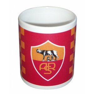 ASローマ マグカップ(チェック柄) footballfan