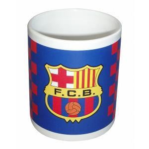 FCバルセロナ マグカップ(チェック柄) footballfan