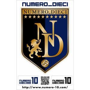 NUMERO_DIECI クラシックエンブレムステッカー【G大阪カラー】|footballfan