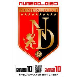 NUMERO_DIECI クラシックエンブレムステッカー【浦和カラー】|footballfan