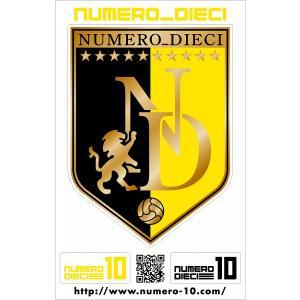 NUMERO_DIECI クラシックエンブレムステッカー【柏カラー】|footballfan