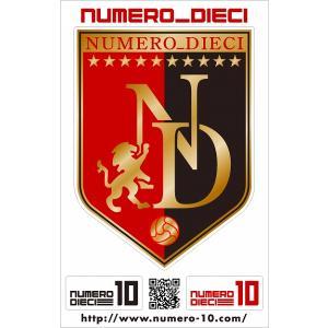 NUMERO_DIECI クラシックエンブレムステッカー【札幌カラー】|footballfan