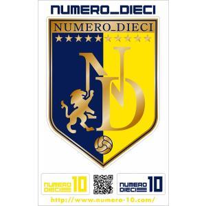 NUMERO_DIECI クラシックエンブレムステッカー【大分カラー】|footballfan