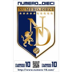 NUMERO_DIECI クラシックエンブレムステッカー【山形カラー】|footballfan