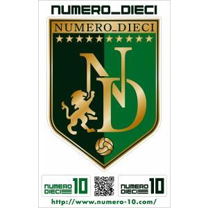 NUMERO_DIECI クラシックエンブレムステッカー【岐阜カラー】|footballfan