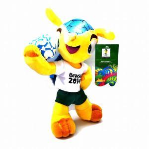 FIFAワールドカップ2014 ブラジル大会マスコットぬいぐるみ|footballfan