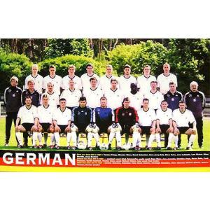 ドイツ代表 2002 集合写真 ポスター|footballfan