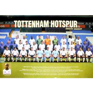 トッテナム 2003-2004/集合写真 ポスター|footballfan