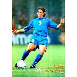 カンナバーロ(ドリブル)イタリア代表ポスター|footballfan