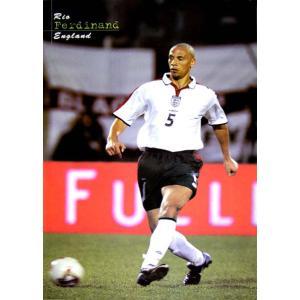 リオ・ファーディナンド イングランド代表2003 ポスター|footballfan