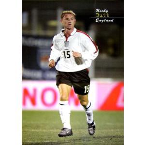 ニッキー・バット(イングランド代表2003) ポスター|footballfan