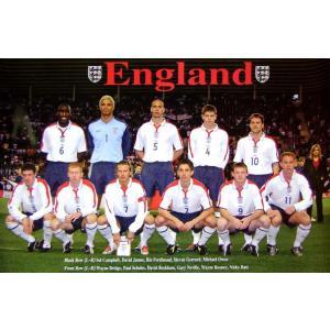 イングランド代表 2003年 ポスター|footballfan
