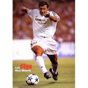 フィーゴ(レアルマドリッド03/04)ポスター|footballfan