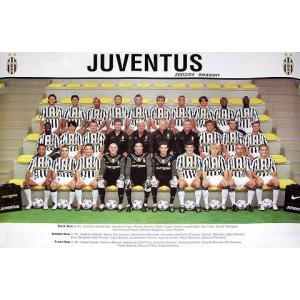 ユベントス2003/2004ポスター|footballfan