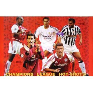 チャンピオンズリーグHOT-SHOTS!(03/04)ポスター|footballfan