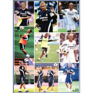 ベッカム(レアルマドリッド03/04)ポスター|footballfan