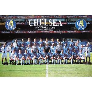チェルシー03/04 集合写真ポスター|footballfan