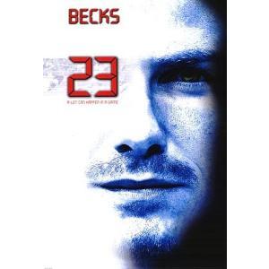 ベッカム「Becks 23 Spoof」 ポスター|footballfan