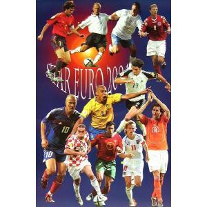スター ユーロ2004 ポスター|footballfan