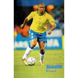 ロナウド(ブラジル代表) ポスター【欧州サッカー】【スペインリーグ】|footballfan