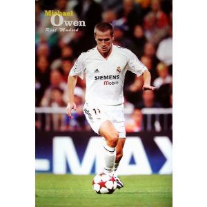 オーウェン レアルマドリッド04/05 ポスター|footballfan