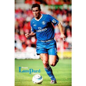 ランパード チェルシー04/05 ポスター|footballfan