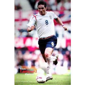 ランパード イングランド2005 ポスター|footballfan