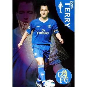 J・テリー チェルシー04/05 ポスター|footballfan