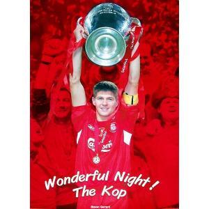 ジェラード リバプール CL05 Wonderful Night ポスター|footballfan