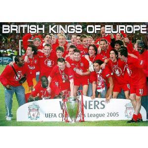 リバプール チャンピオンズリーグ2005 チャンピオン ポスター|footballfan