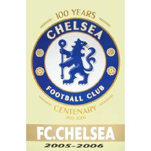 チェルシー 100周年エンブレムポスター|footballfan